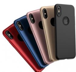Full Protector Phone Case Slim Hard Cover